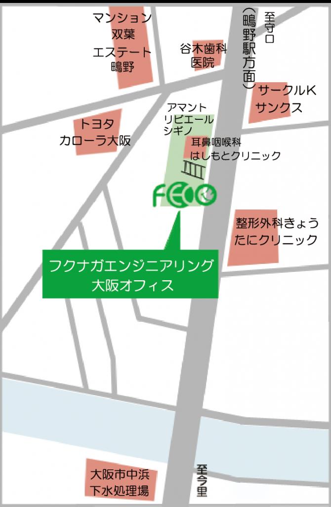オフィス地図
